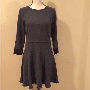 Vince Camuto Gray Knit Dress.  Size Medium